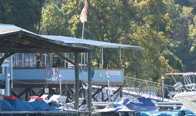 Crows Nest Restaurant at Blue Springs Marina, Blue Springs Cove, Watts Bar Lake, Tennessee River, TN River, Ten Mile, Kingston TN, Kingston, Roane County, eat on watts bar lake