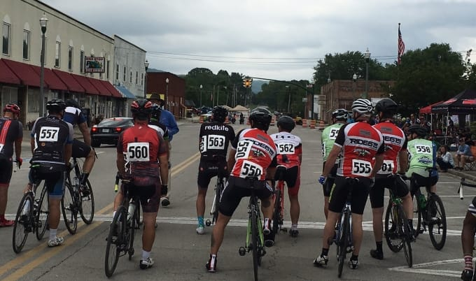 Roane County Tennessee, Three River Rumble, Criterium, Bike Race, TBRA, Bike Championship, Tennessee Bike